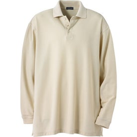 Donner Long Sleeve Polo Shirt by TRIMARK with Your Logo