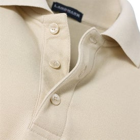 Imprinted Donner Long Sleeve Polo Shirt by TRIMARK