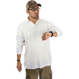 Donner Long Sleeve Polo Shirt by TRIMARK with Your Slogan