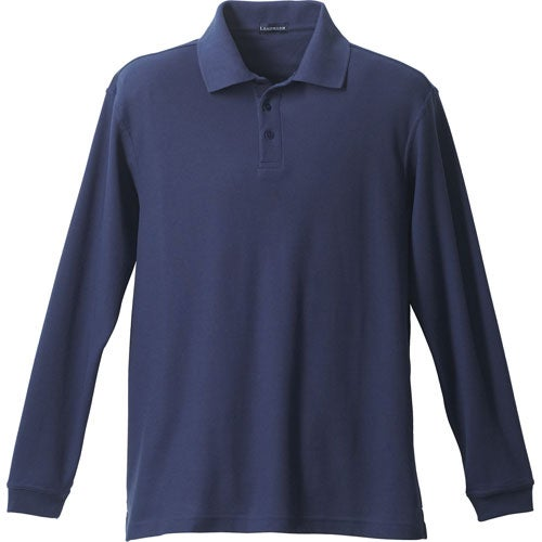 Donner Long Sleeve Polo Shirt by TRIMARK