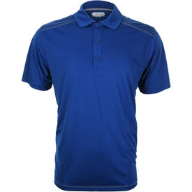 Logo Dunlay Short Sleeve Polo Shirt by TRIMARK