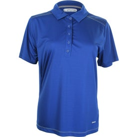 Branded Dunlay Short Sleeve Polo Shirt by TRIMARK