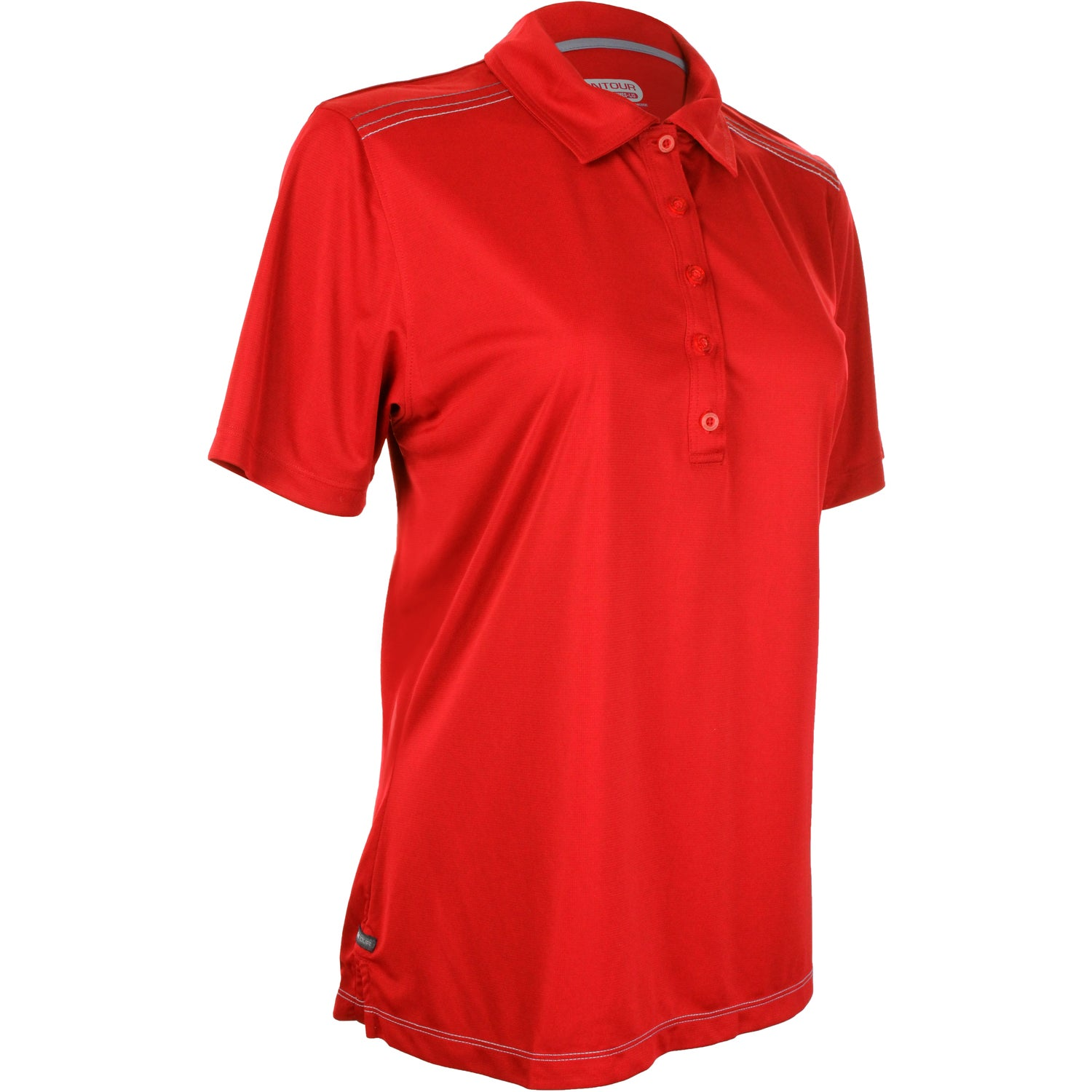 Dunlay Short Sleeve Polo Shirt By Trimark Women 39 S
