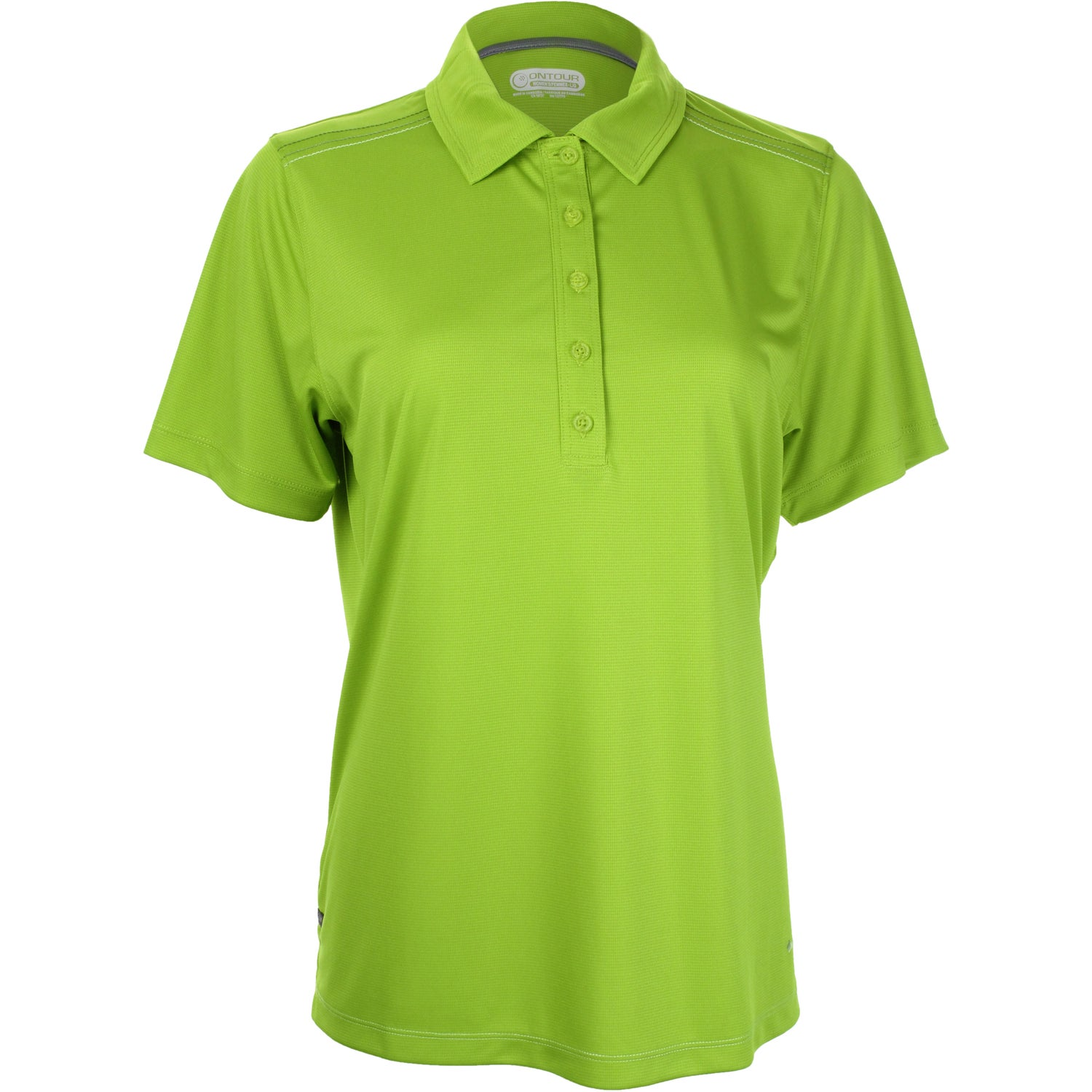 Promotional women 39 s dunlay short sleeve polo shirt by for Quality polo shirts with company logo