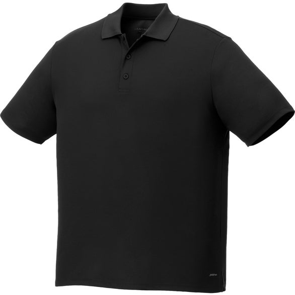 Promotional edge short sleeve polo shirt by trimarks with for Quality polo shirts with company logo