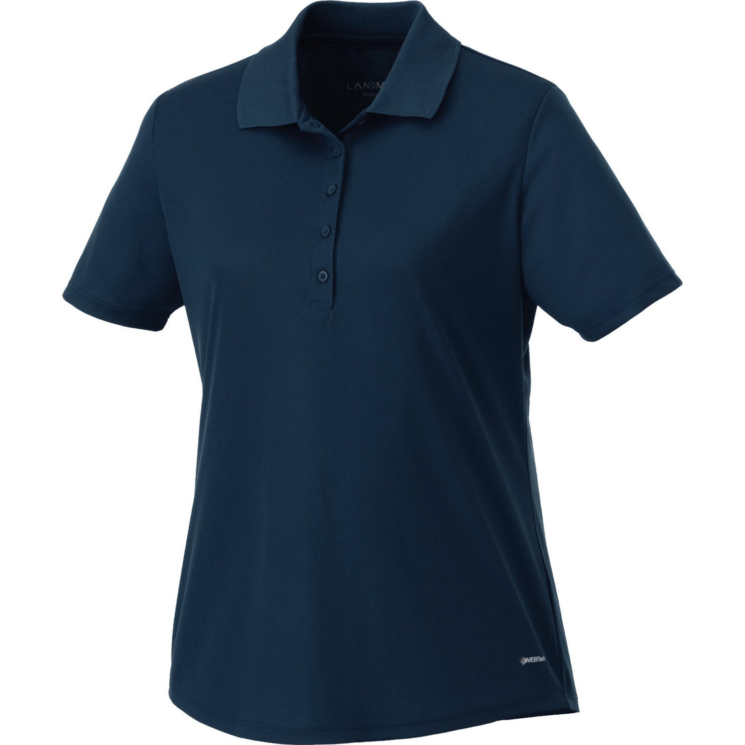 Edge short sleeve polo shirt by trimark women 39 s for Quality polo shirts with company logo