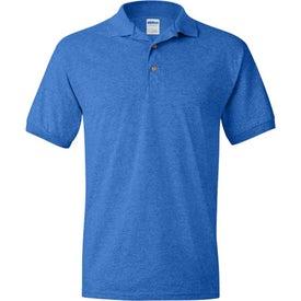 Gildan Ultra Blend Jersey Sport Shirt Printed with Your Logo