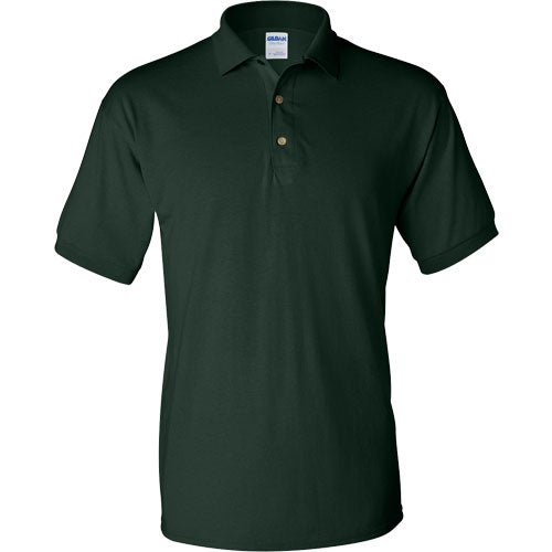 Gildan ultra blend jersey sport shirt embroidered polo for Quality polo shirts with company logo