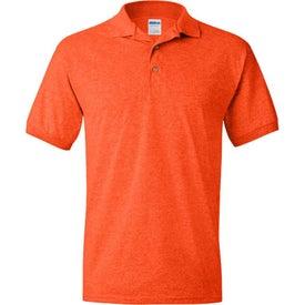 Logo Gildan Ultra Blend Jersey Sport Shirt