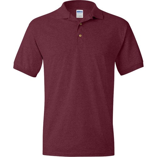 Promotional gildan ultra blend jersey sport shirts with for Quality polo shirts with company logo