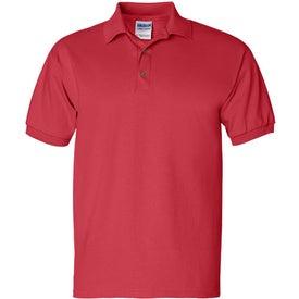 Printed Gildan Ultra Cotton Jersey Sport Shirt