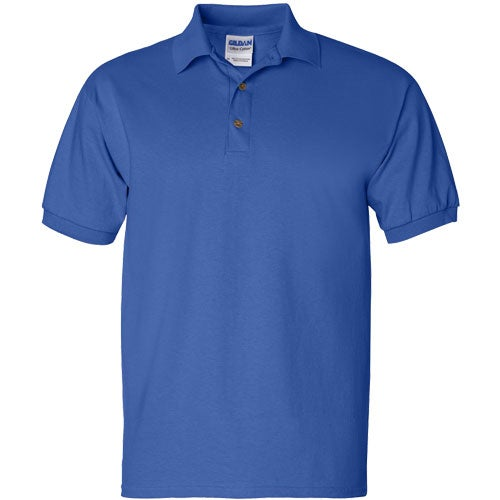 Gildan ultra cotton jersey sport shirt embroidered polo for Cotton polo shirts with logo