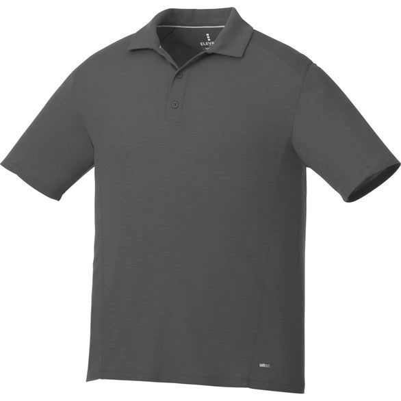 Anthracite Jepson Short Sleeve Polo Shirt by TRIMARK