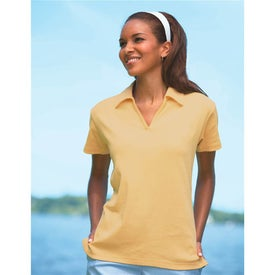 Jockey Ladies Satin-Trim Polo