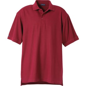 Company Madera Short Sleeve Polo Shirt by TRIMARK