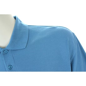 Madera Short Sleeve Polo Shirt by TRIMARK with Your Slogan