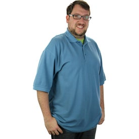 Madera Short Sleeve Polo Shirt by TRIMARK Giveaways