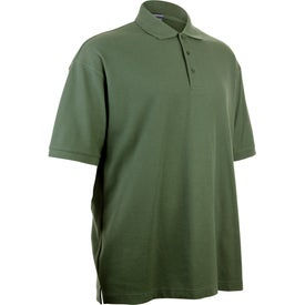 Madera Short Sleeve Polo Shirt by TRIMARK for Customization