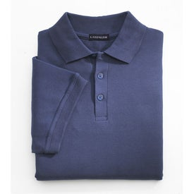 Madera Short Sleeve Polo Shirt by TRIMARK Printed with Your Logo