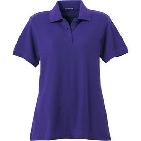 Madera Short Sleeve Polo Shirt by TRIMARK Branded with Your Logo