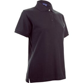 Printed Madera Short Sleeve Polo Shirt by TRIMARK