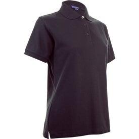 Printed Madera Short Sleeve Polo Shirt by TRIMARK