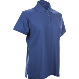 Logo Madera Short Sleeve Polo Shirt by TRIMARK