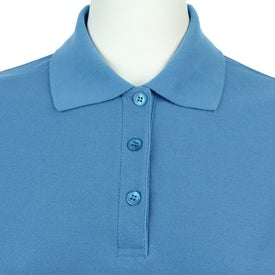 Imprinted Madera Short Sleeve Polo Shirt by TRIMARK
