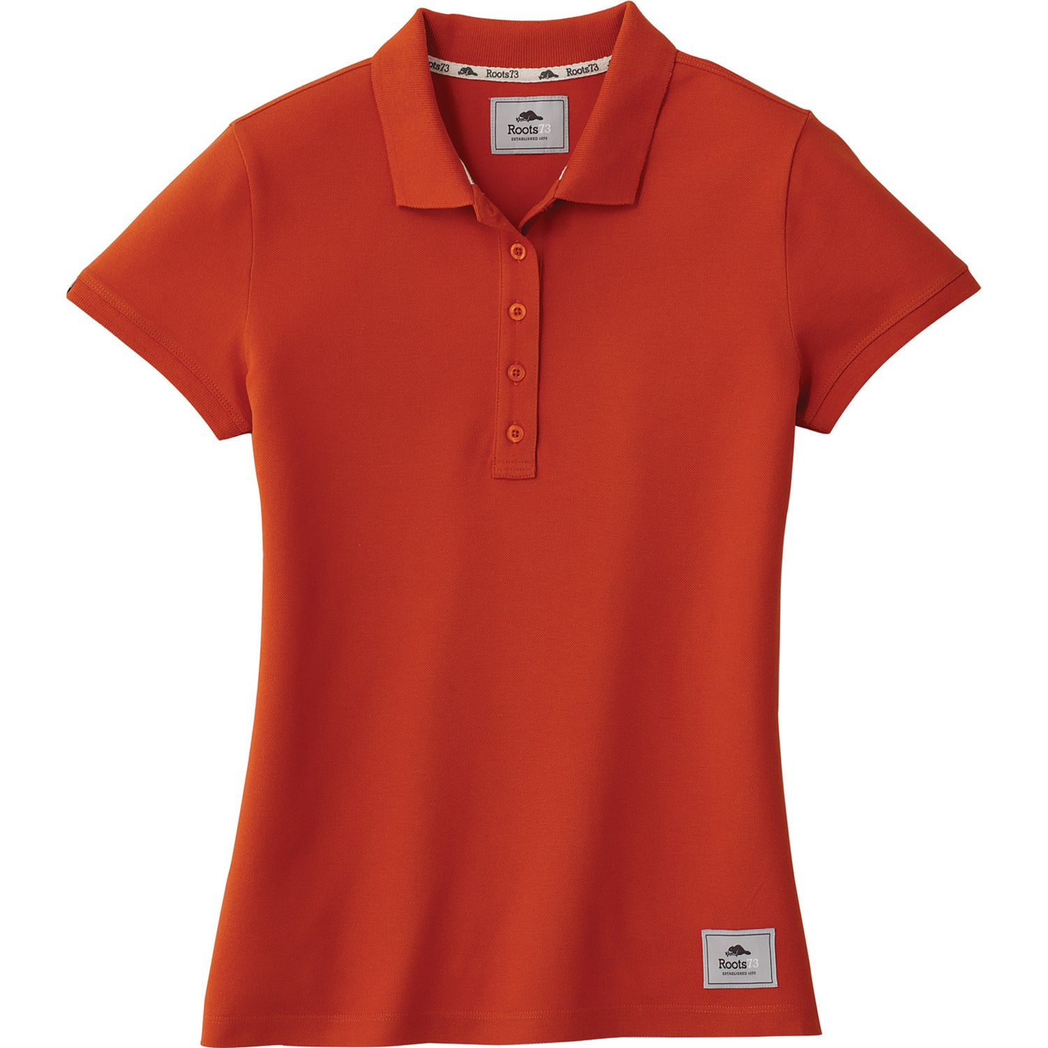 Promotional women 39 s mapleton roots73 short sleeve polo for Custom embroidered polo shirts no minimum order