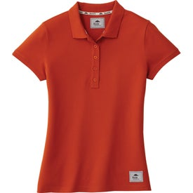 Mapleton Roots73 Short Sleeve Polo Shirt by TRIMARK (Women's)