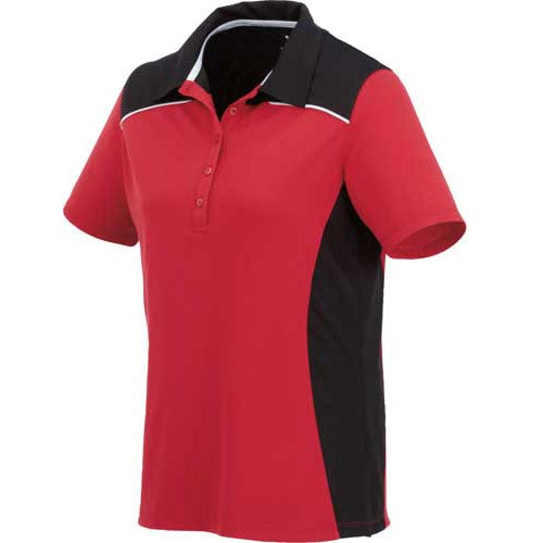 Martis short sleeve polo shirt by trimark women 39 s for Women s company logo shirts