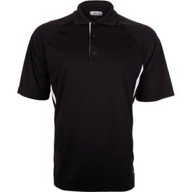 Mitica Short Sleeve Polo Shirt by TRIMARK Branded with Your Logo