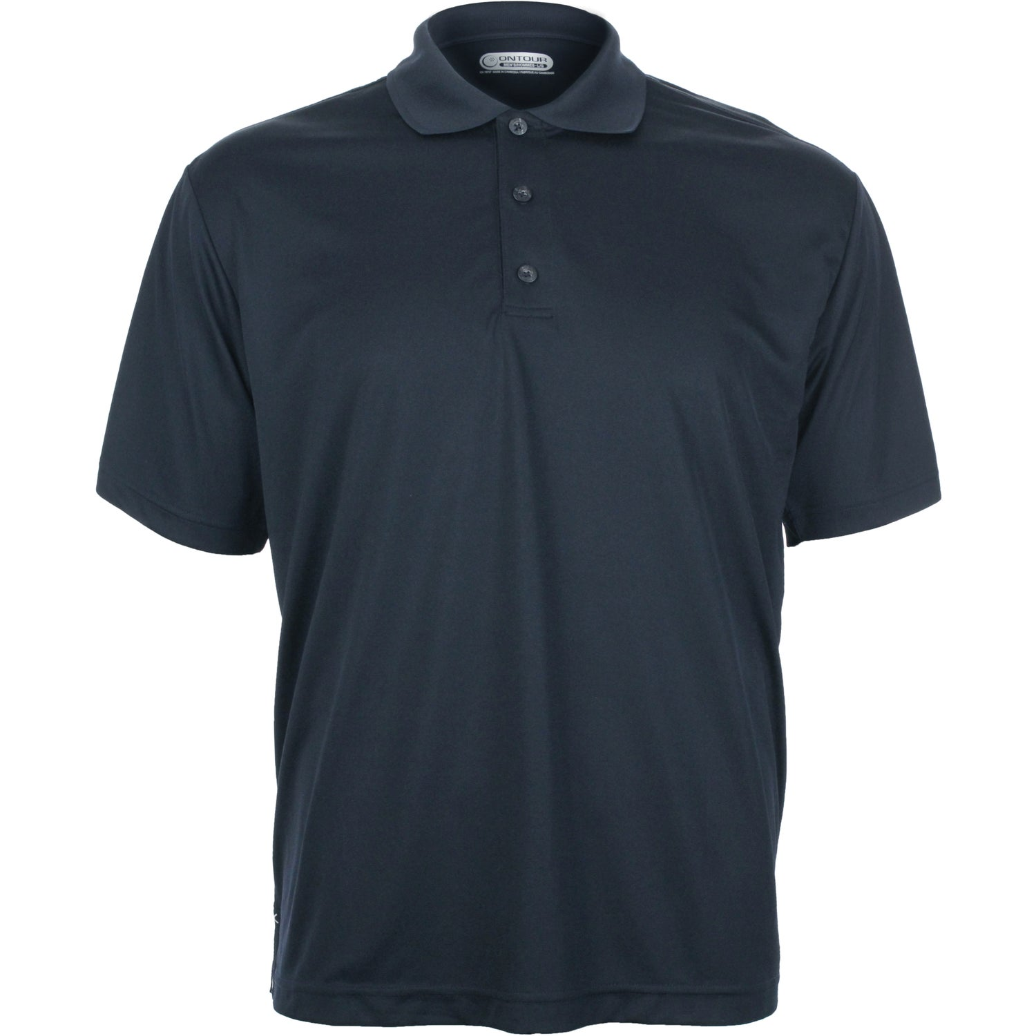 Moreno short sleeve polo shirt by trimark men 39 s for Embroidered polo shirts online
