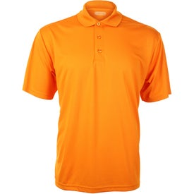 Moreno Short Sleeve Polo Shirt by TRIMARK for Customization