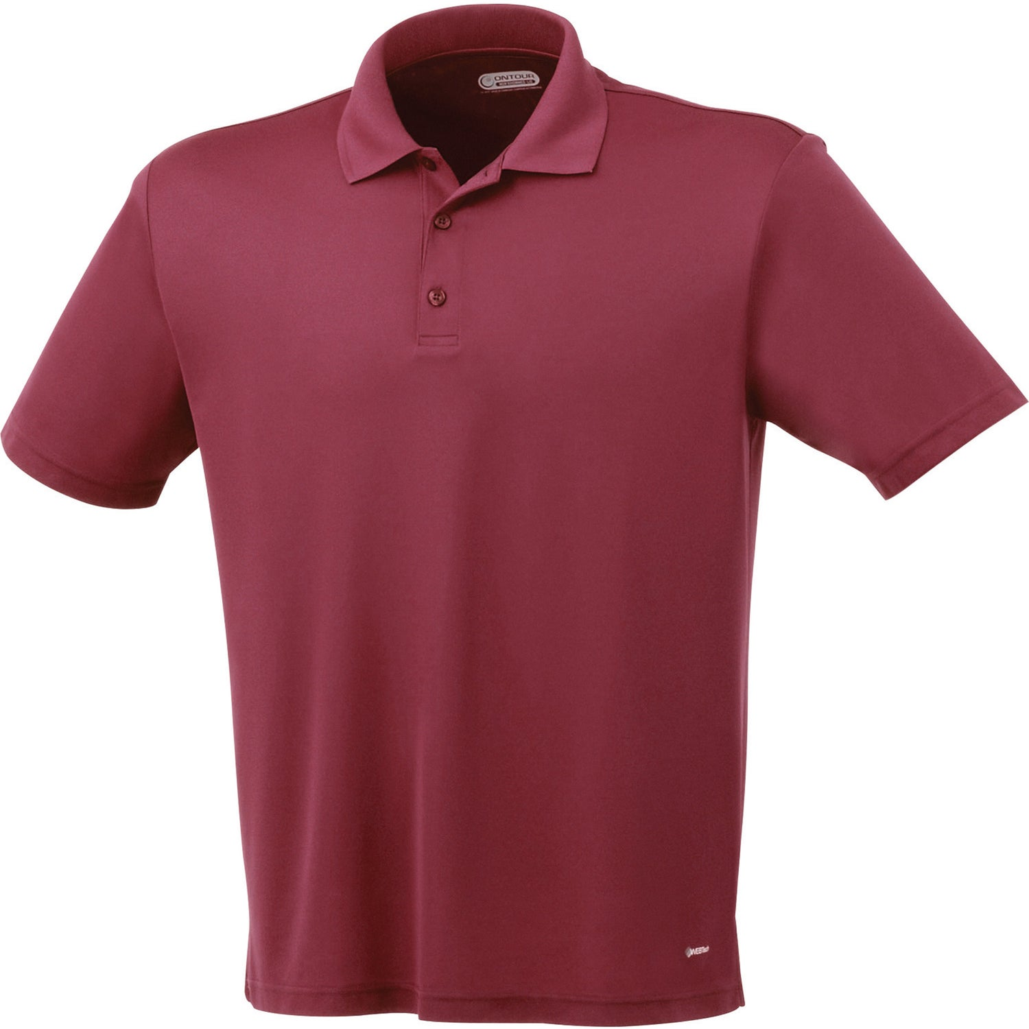 Moreno short sleeve polo shirt by trimark men 39 s for Quality polo shirts with company logo