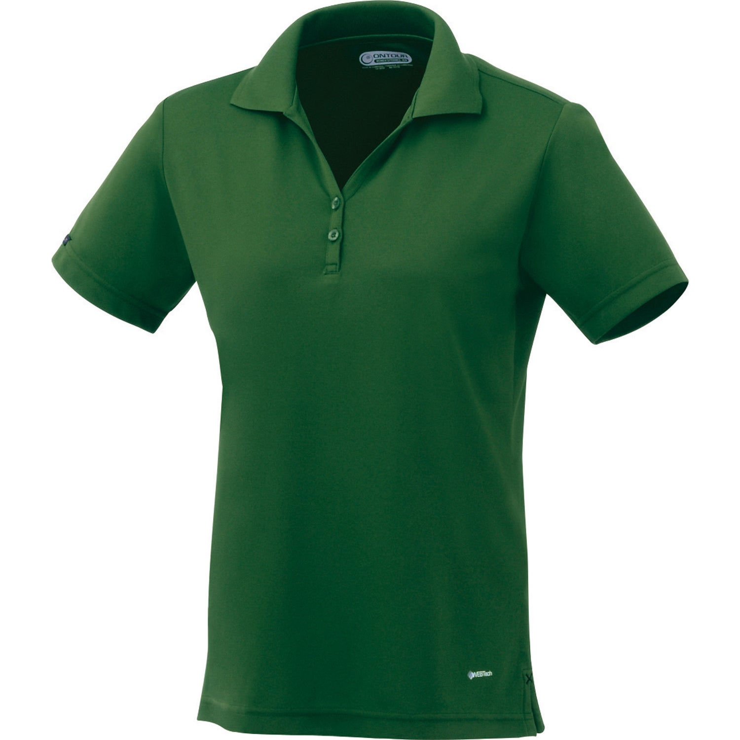 Moreno short sleeve polo shirt by trimark women 39 s for Quality polo shirts with company logo
