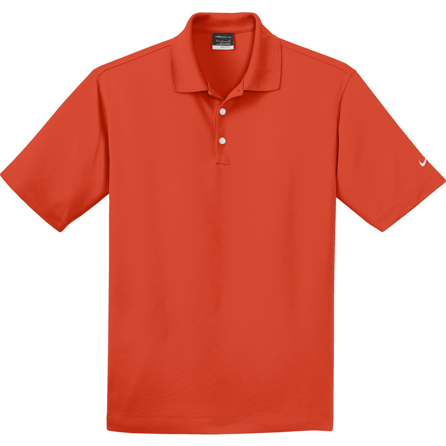 Nike golf dri fit micro pique polo shirt embroidered for Corporate logo golf shirts