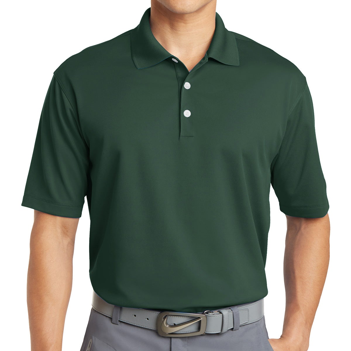 Promotional Colors Nike Golf Dri Fit Micro Pique Polo Shirts With