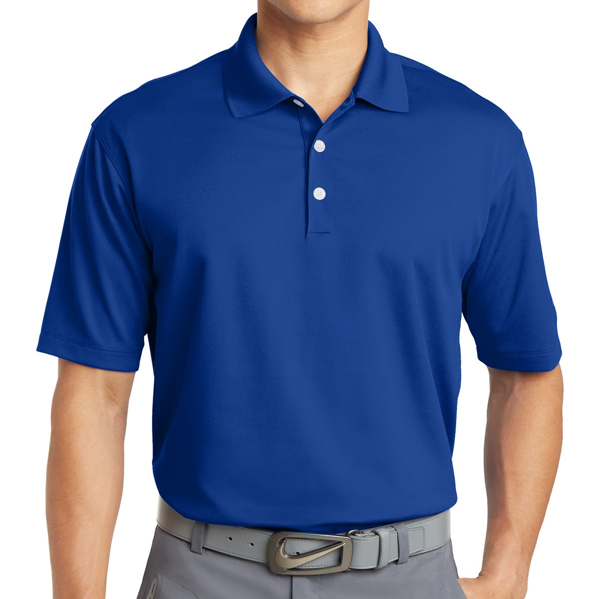 nike golf dri fit micro pique polo shirt embroidered