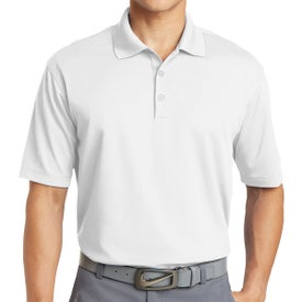 Nike Golf Dri-FIT Micro Pique Polo Shirt (White)