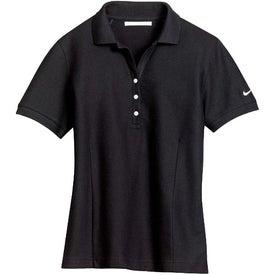 Logo NIKE GOLF Ladies Pique Knit Sport Shirt