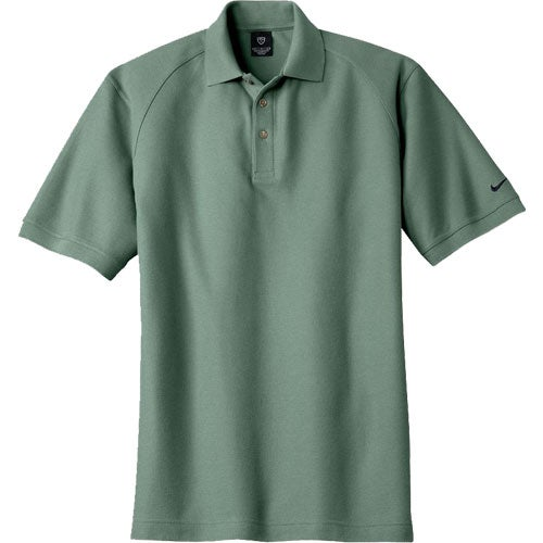 nike golf pique knit sport shirt embroidered polo shirts