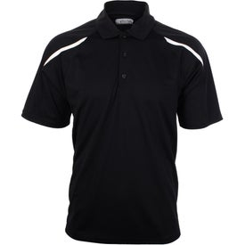 Nyos Short Sleeve Polo Shirt by TRIMARK for Customization