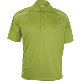 Logo Nyos Short Sleeve Polo Shirt by TRIMARK