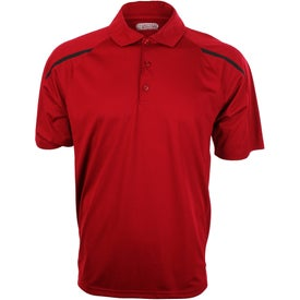 Nyos Short Sleeve Polo Shirt by TRIMARK for Marketing