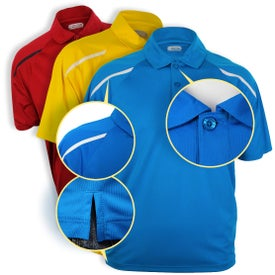 Nyos Short Sleeve Polo Shirt by TRIMARK for your School