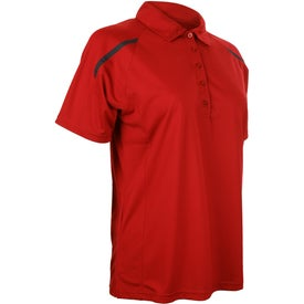 Logo Nyos Short Sleeve Polo Shirt by TRIMARK