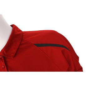 Imprinted Nyos Short Sleeve Polo Shirt by TRIMARK