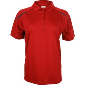 Nyos Short Sleeve Polo Shirt by TRIMARK Branded with Your Logo