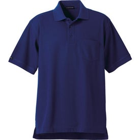 Printed Orson Short Sleeve Polo Shirt by TRIMARK